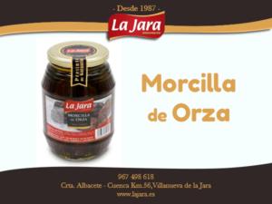 NUESTROS PRODUCTOS | Morcilla de Orza